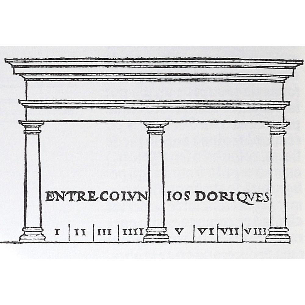 Incunable libro antiguo facs mil medidas romano for Libro medidas arquitectura