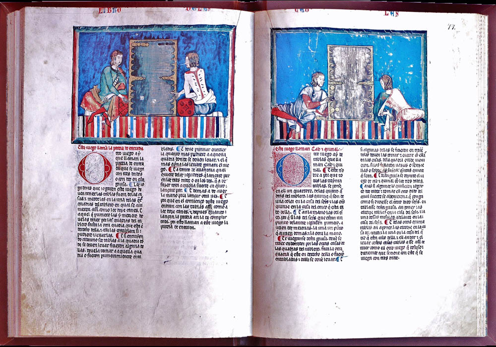 Libro Ajedrez Dados Tablas-Alfonso X Wise-Chest-Manuscript-Illuminated codex-facsimile book-Vicent García Editores-13 Cover