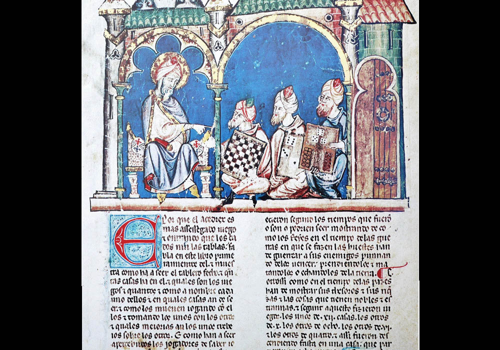 Libro Ajedrez Dados Tablas-Alfonso X Wise-Chest-Manuscript-Illuminated codex-facsimile book-Vicent García Editores-3 Chest Rules.