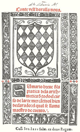 Post-incunabula arithmetic in Gothic script
