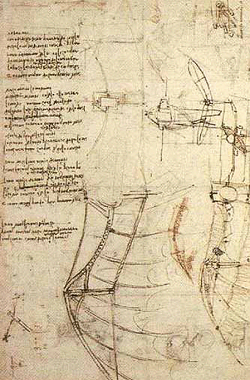 Codex Atlanticus. Leonardo DA VINCI.