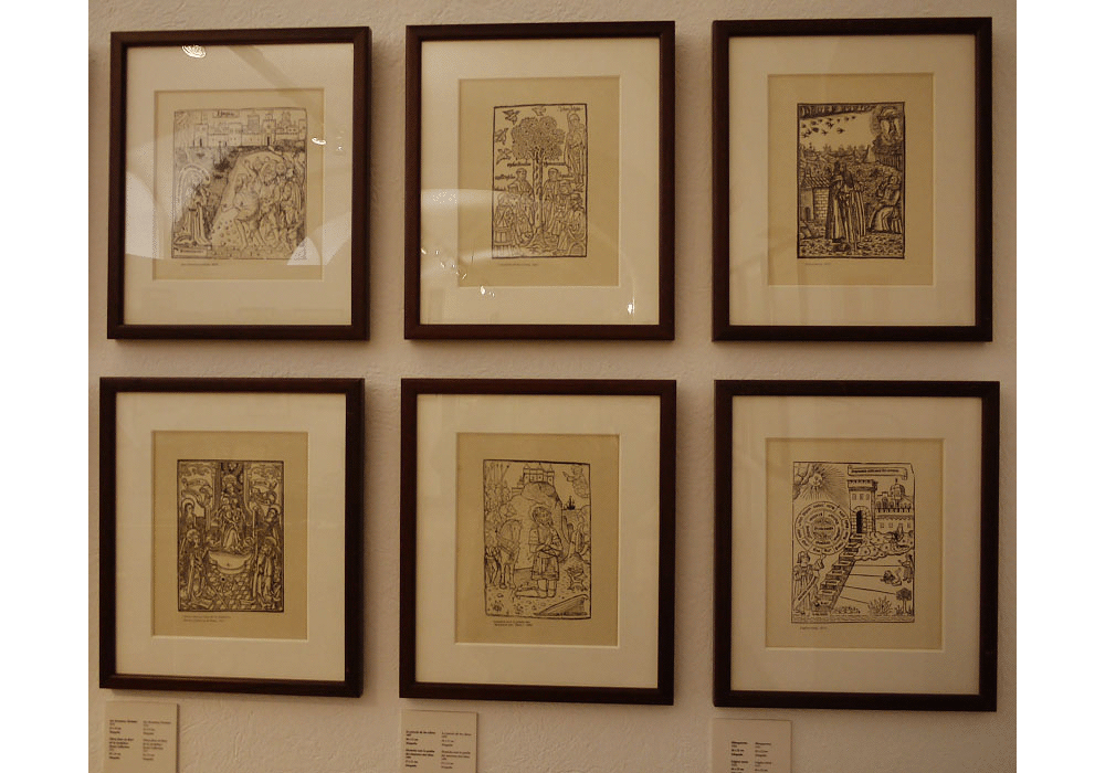 Collection of etchings