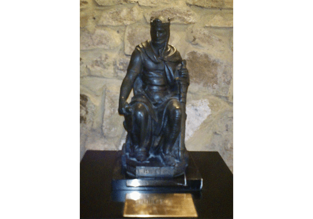Bronze sculpture of king Jaime I the Conqueror