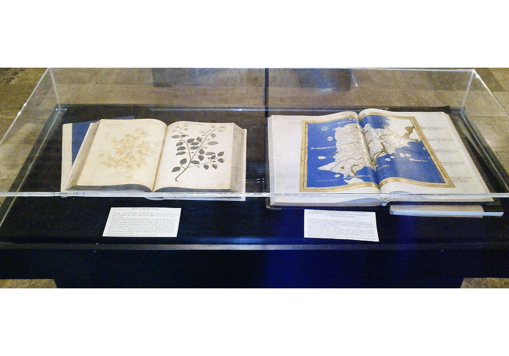 Facsimile codices of Atlas Historiae Naturalis and Atlas of Ptolemy