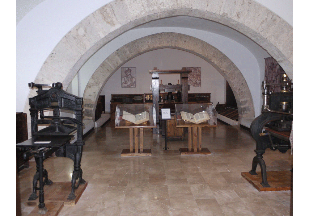 View of the Gutenberg Press Room