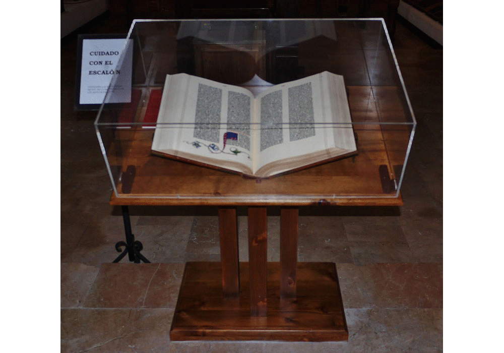 The Gutenberg Bible, Burgos copy. Facsimile. Vicent García Editores